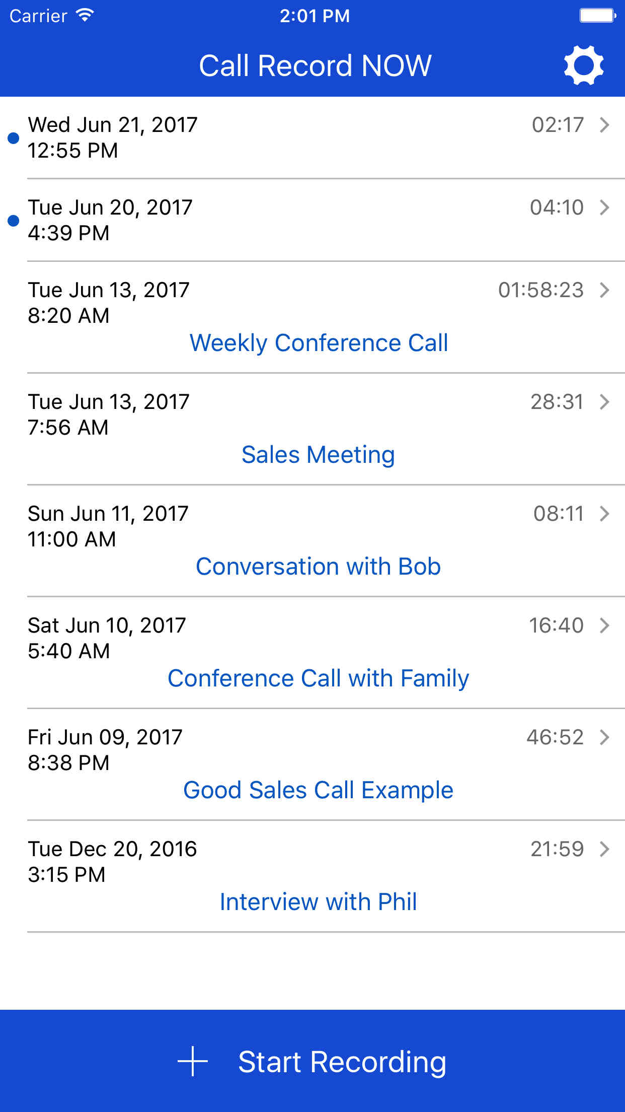 Call Record NOW: Call Recorder App for iPhone  Record any