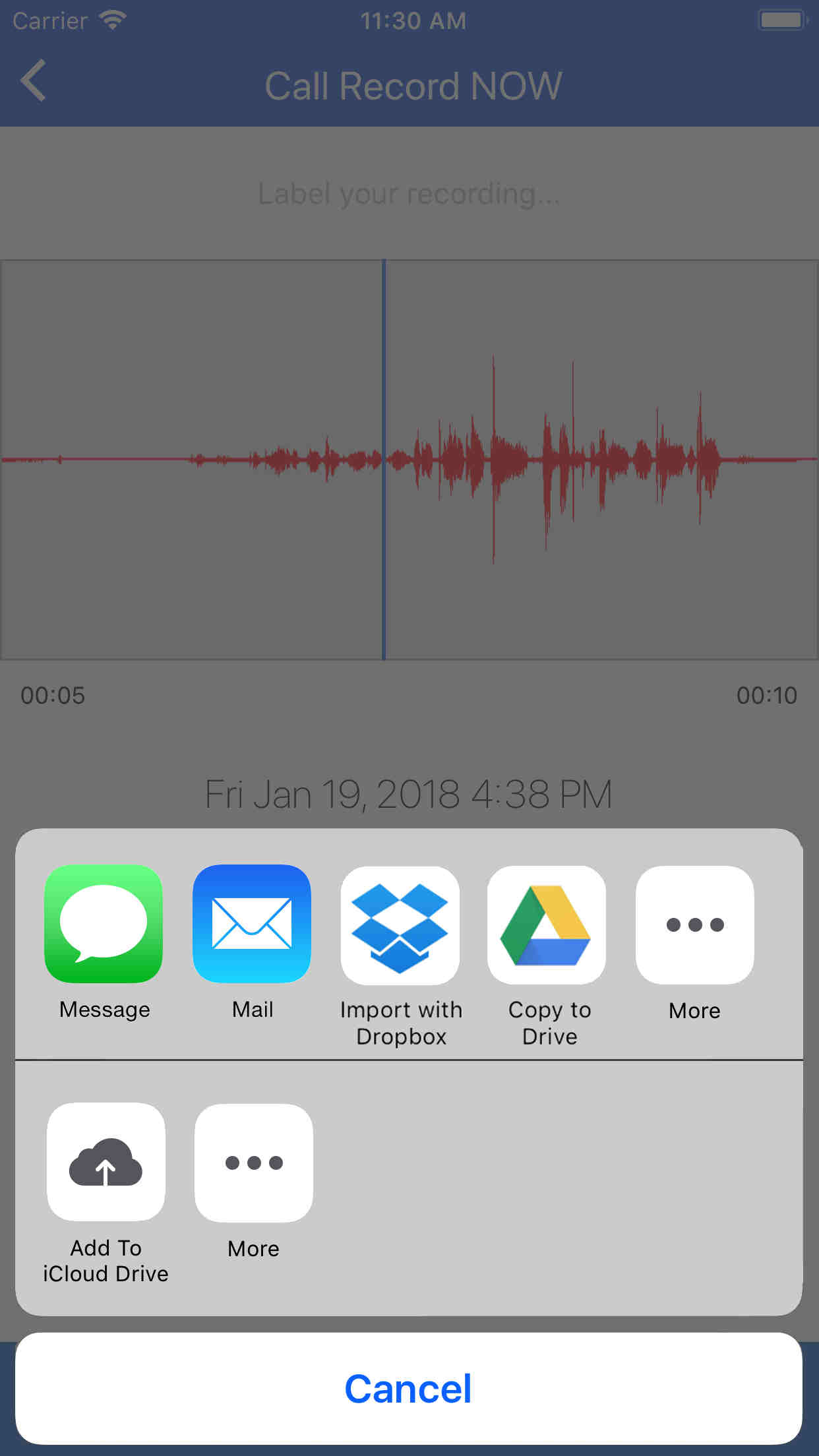 Call Record NOW: Call Recorder App for iPhone  Record any call on